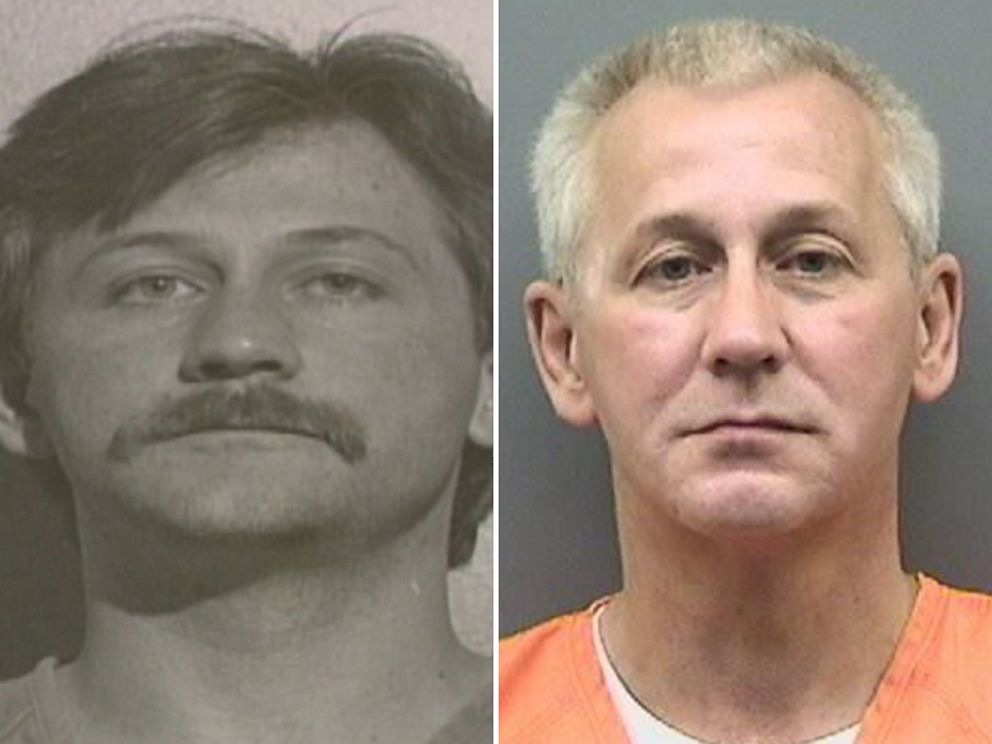 PHOTO: Oscar Bolin is pictured here in a mugshot from 1991 on the left and a more recent mugshot on the right.