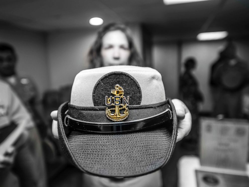 Navy s Famous  Dixie Cup  Hats to Be Worn by Women - ABC News 40d3c8f1b9f