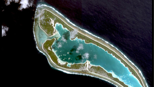 PHOTO: Nikumaroro island