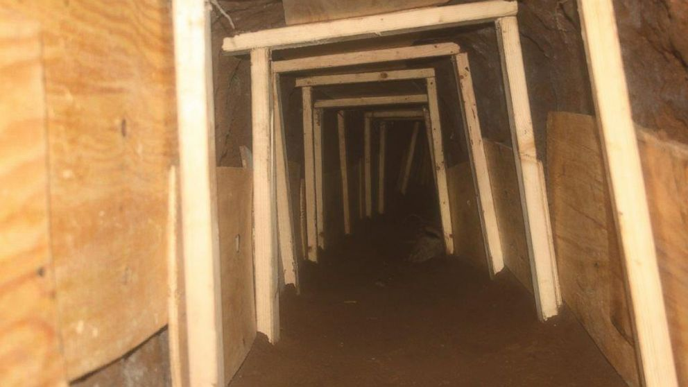 Inside the Unfinished Smuggling Tunnel Discovered on the US-Mexico Border