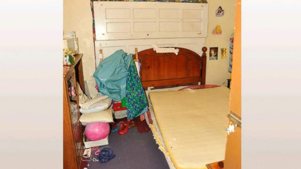 Amanda Berry tried to make her daughter Jocelyn's life normal in their room seen here.