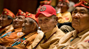 Navajo Code Talkers Launch Final Mission
