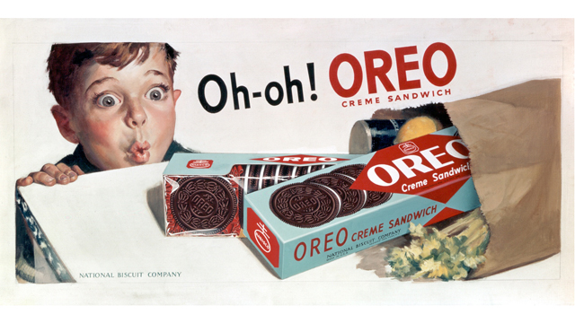 """PHOTO: This was a memorable ad campaign, said Becky Tousey, Kraft Foods """"Oreo historian."""""""