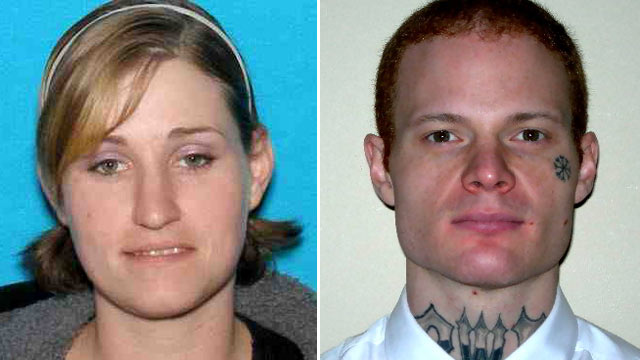 PHOTO:When Holly Grigsby and Joseph Pedersen were captured, they were wanted in connection with a murder in Washington and two disappearances.