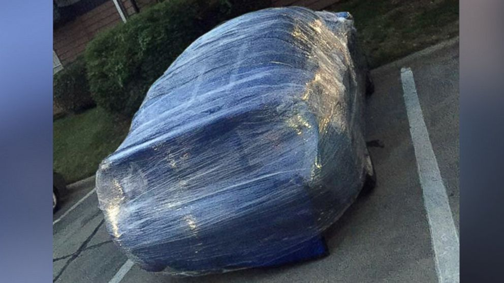Saran Wrap Car: Texas Residents Take Extreme Measures To Protect Cars From
