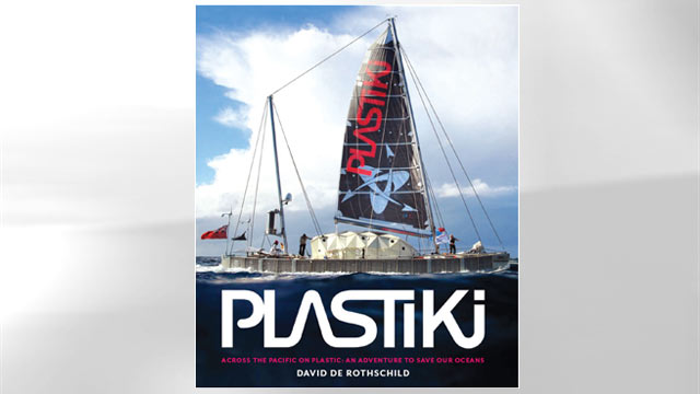 PHOTO: Adventurer and environmentalist David de Rothschild and his five person crew embarked on an extraordinary journey aboard the Plastiki,