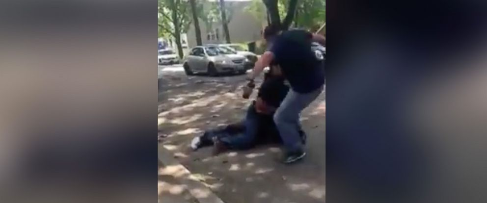 PHOTO: A video appearing to show a Chicago Police Officer stomp on a mans head is under investigation, according to the Chicago Police Department.