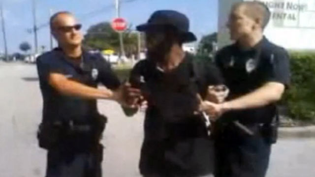 PHOTO: Police in Casselberry, Fla., are using a video of a man being tasered while jaywalking to teach officers the proper procedure.