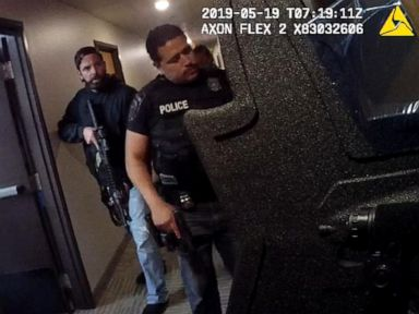 Police body camera captures heart-stopping moment officers find kidnapped 8-year-old