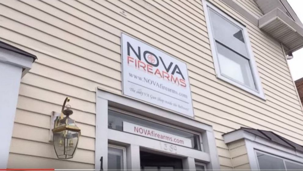 The Nova Firearms store opened to controversy in McLean, Va.