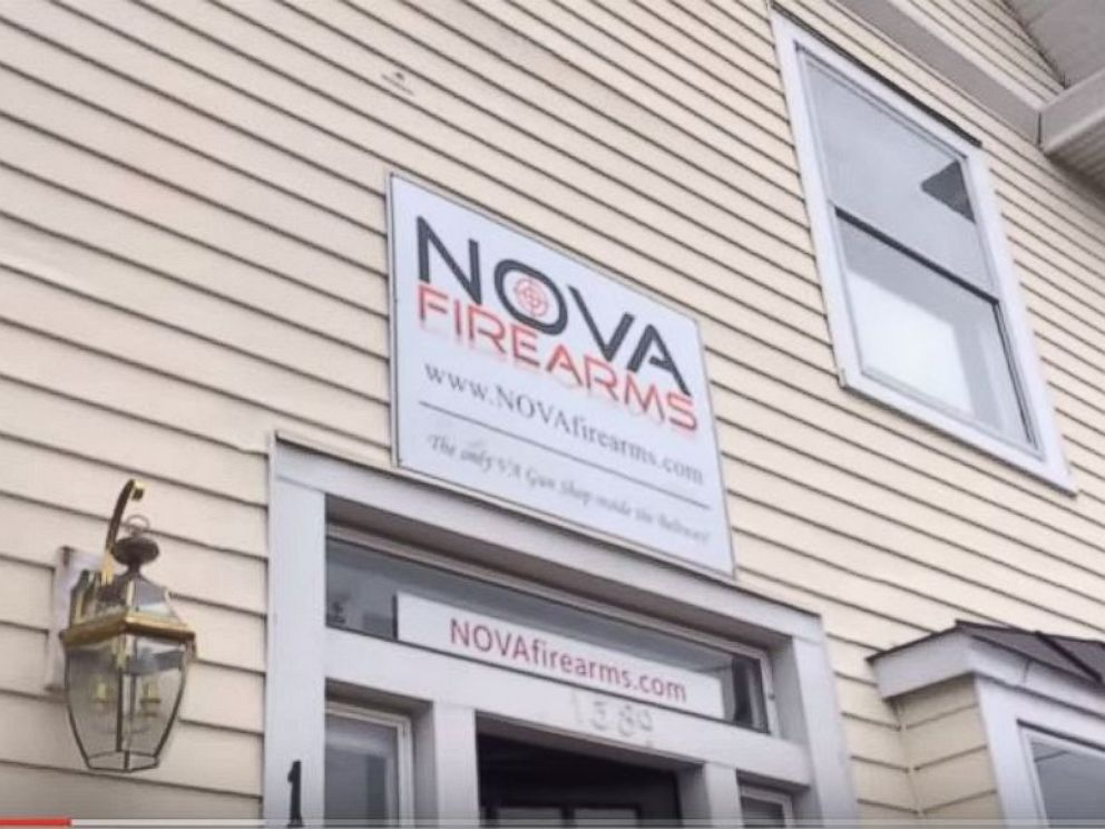 PHOTO: The Nova Firearms store opened to controversy in McLean, Va.