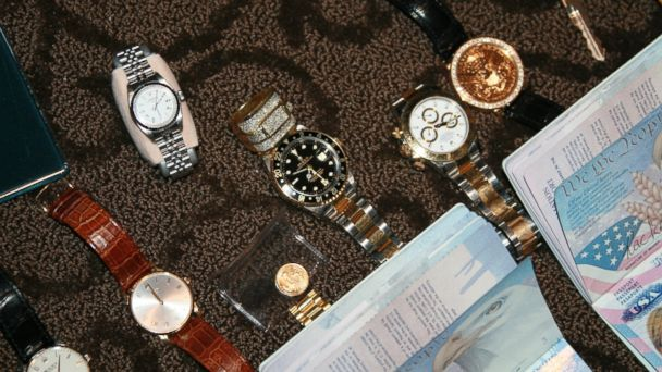 PHOTO: Police found these expensive items in the Canby psychic shop purchased by the Lees with Raines money.