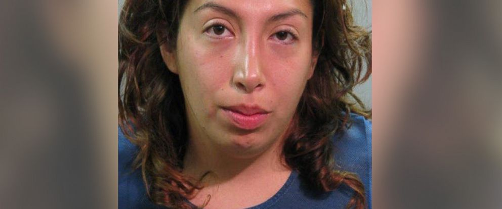 PHOTO: Sarah Espinosa is pictured in her booking photo.