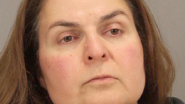 PHOTO: Ramineh Behbehanian was arrested in San Jose, Calif. for attempted murder after she put poison in an orange juice container at at Starbucks on April 29, 2013.