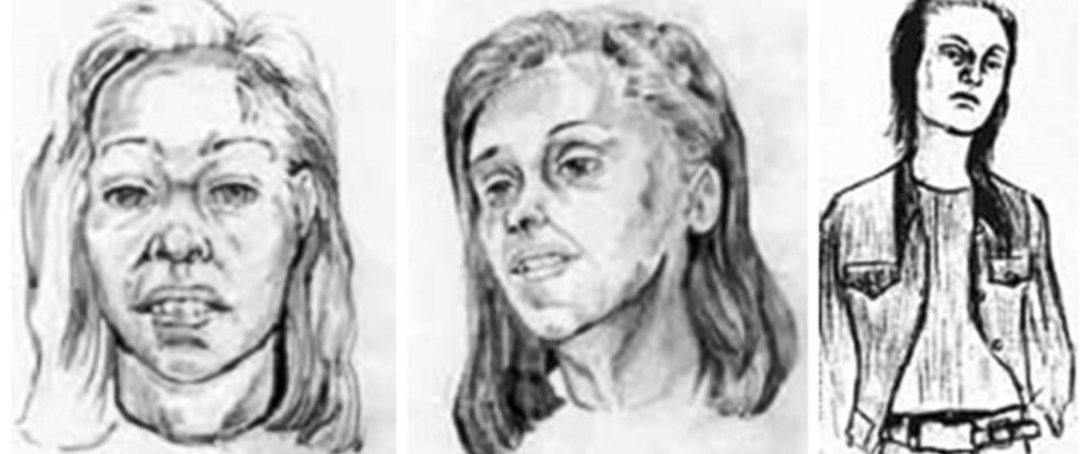 "PHOTO: After the Jane Doe was identified as Reet Jurvetson, her sister, Anne, said the original forensic sketches were ""inaccurate."""