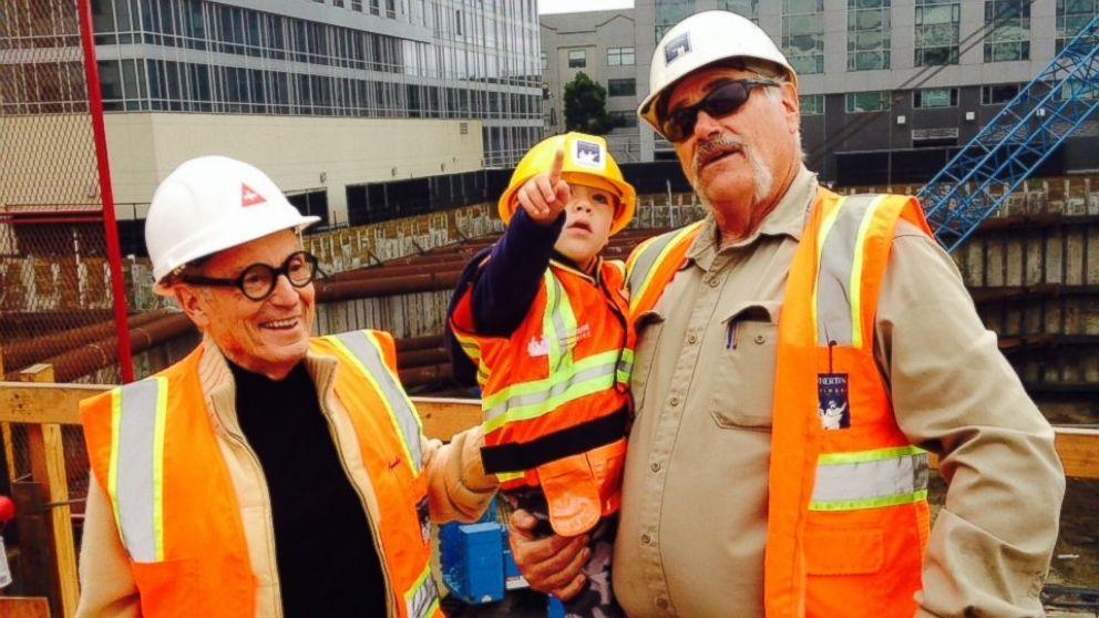Calif Boy S Construction Foreman Wish Granted Abc News
