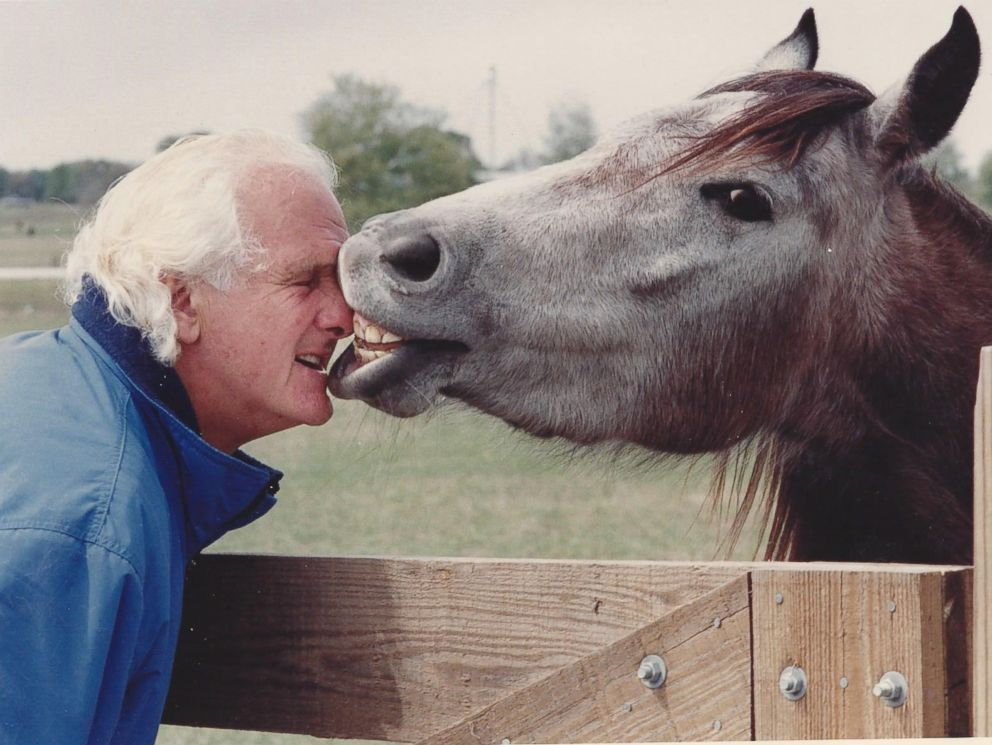 PHOTO: Peter Gregory cared for retired horses on the Mill Creek farm for thirty-one years before passing away in March.