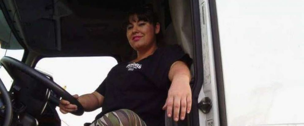 "Jesseca Orosco, as known as ""Road Queen,"" has been driving a truck for more than seven years."
