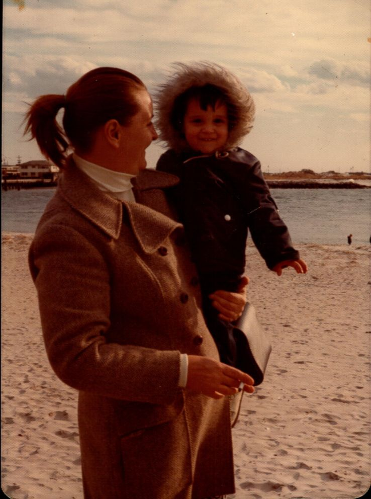Rob Martin is seen here as a young child with his adoptive mother Jackeline Martin.