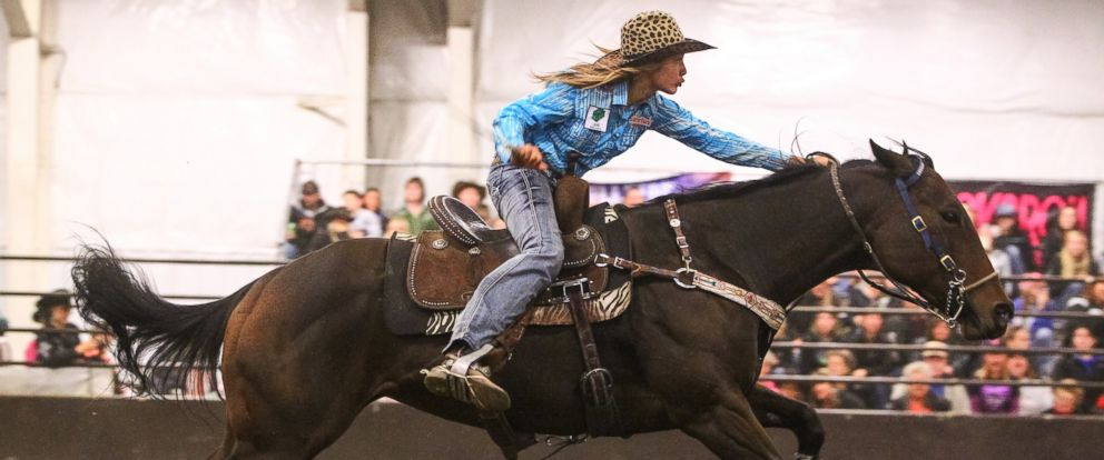 Cowgirl Looking To Win Top Prize At Texas Rodeo And She