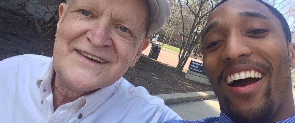 PHOTO: Kenneth Broskey, 69, and Roland Gainer, 22, are pictured here.