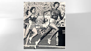 PHOTO Wilma Ruldolf, right, chases Olympic gold in 1960.