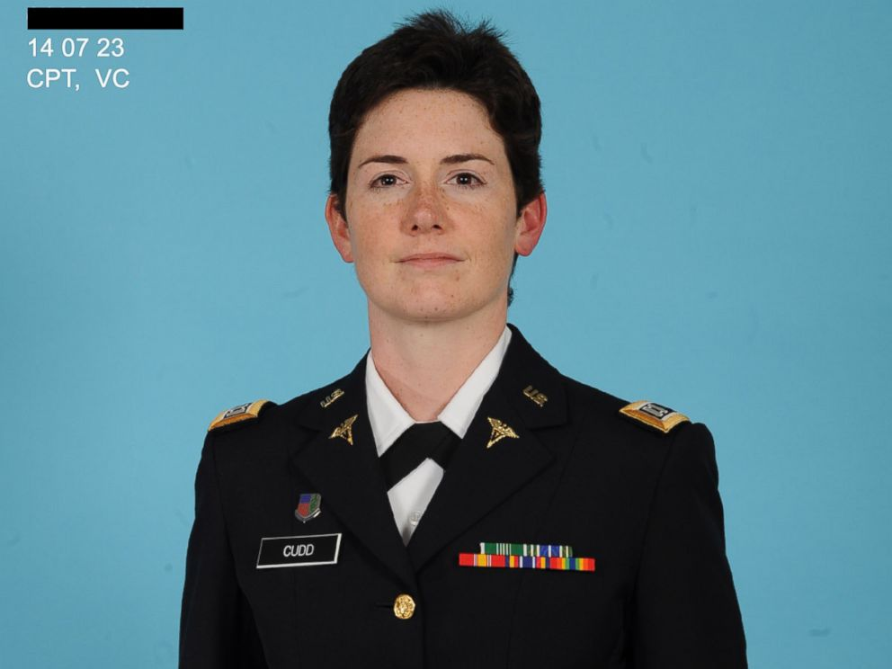 PHOTO: Captain Sarah Cudd is shown in an official Army photo.