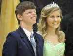 PHOTO: High school junior Scotty Maloney was named homecoming king at Unionville Community High School in Unionville, Tenn.