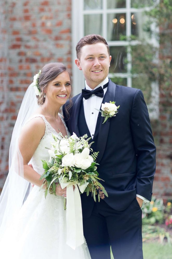 Scotty McCreery used actual footage shot during his wedding festivities for his This Is It music video.