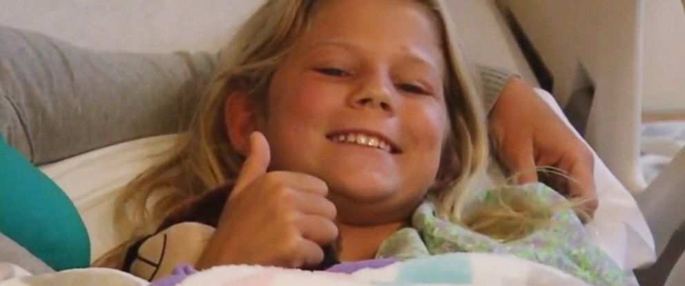 PHOTO: Kaley Szarmack is recovering after being bitten by a shark, Aug. 19, 2015 in Jacksonville Beach, Florida.