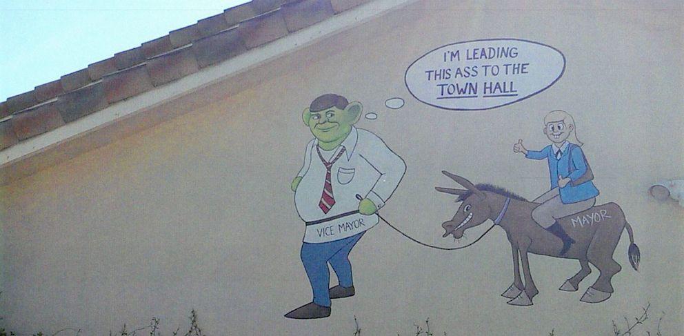 Florida Man Takes Revenge, Paints Town Officials as Shrek, Donkey on