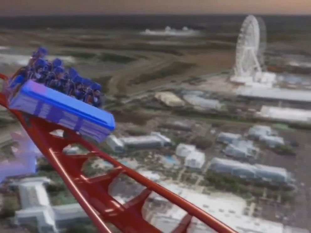 PHOTO: A video showing the new Skyscraper roller coaster, which will be built in Orlando.