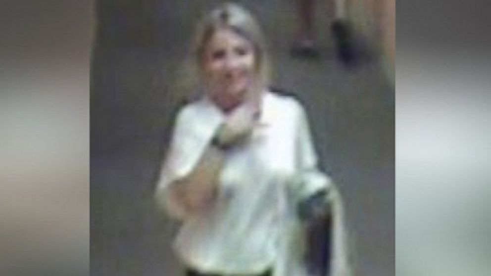 Indiana University student Lauren Spierer spotted on surveillance footage the morning she disappeared on June 3, 2011.