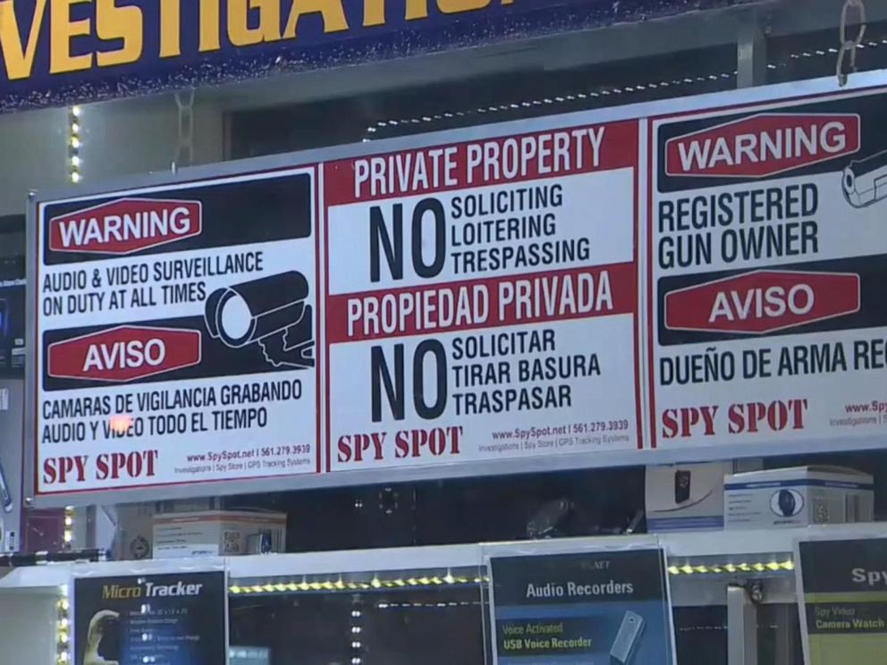 PHOTO: Spy Spot Investigations in Deerfield Beach, Florida, had an attempted break-in on January 4, 2016.