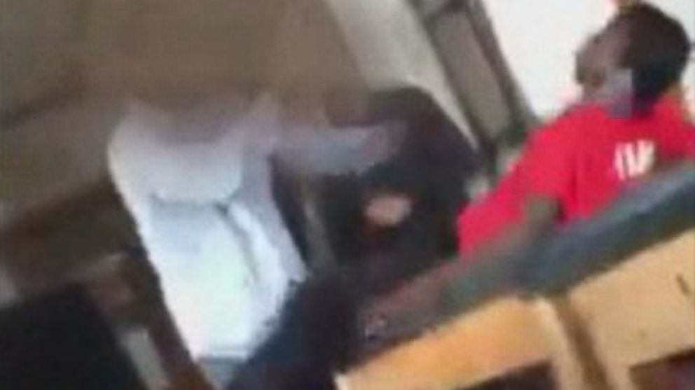 A teacher aide from a Milwaukee high school has been fired after a video was posted to social media of him tackling a student to the ground.