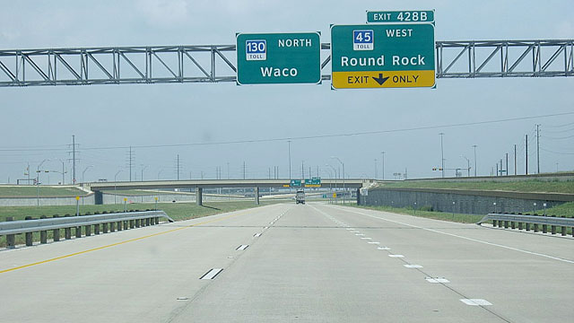 speeding through texas 85 mph highway opens abc news