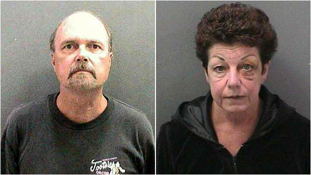 PHOTO: Daniel Alma Shepard and his wife, Gay Davidson-Shepard are charged with sexually assaulted a boy together