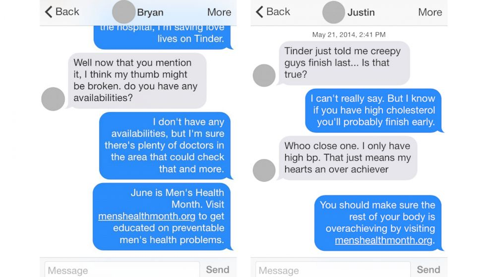 What say on tinder