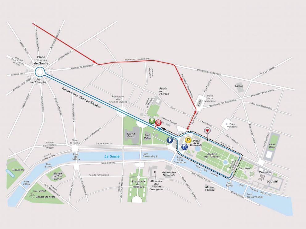 PHOTO: The route of La Course de France, the womens race run by Le Tour de France.