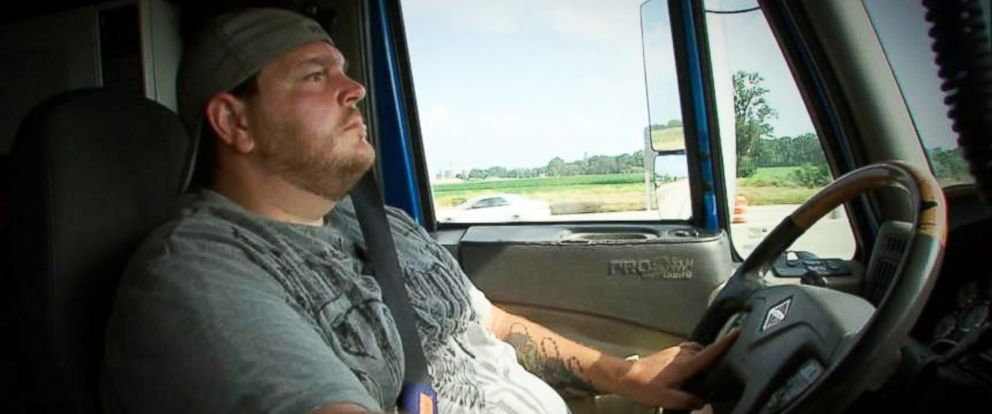 PHOTO: Truck driver Brian Miner was recording with his camera when he got pulled over by an Illinois State Trooper, and video of the encounter has been viewed millions of times online.