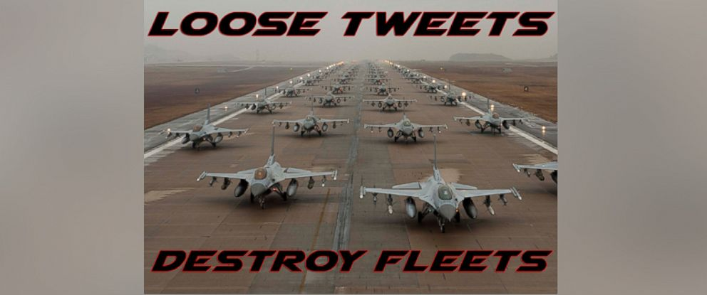 Loose Tweets Destroy Fleets,' Air Force Advisory Warns - ABC