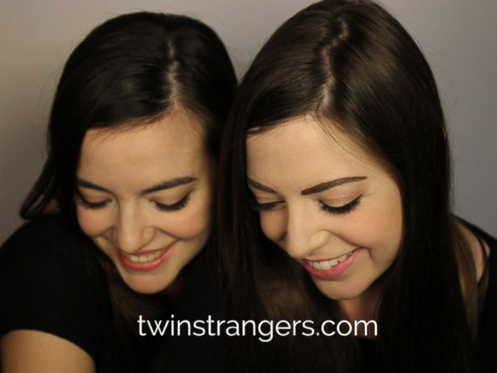 PHOTO: Ireland native Niamh Geaney is pictured here with her second doppelganger, Luisa Guizzardi from Italy.