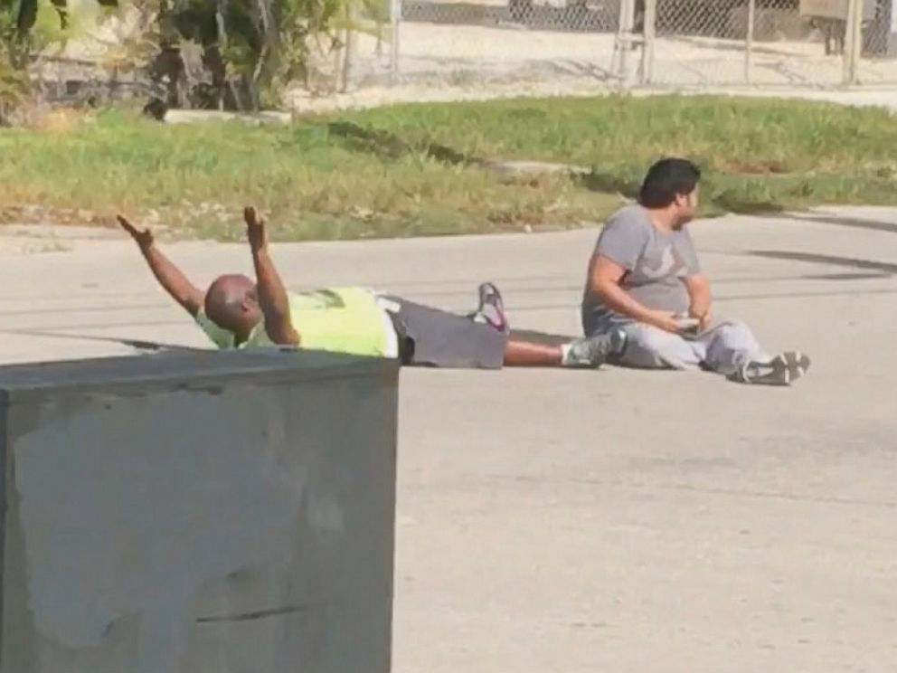 PHOTO: Charlie Kinsey, 47, was shot by police in North Miami, Florida on July 18, 2016. Kinseys attorney released video of the incident.
