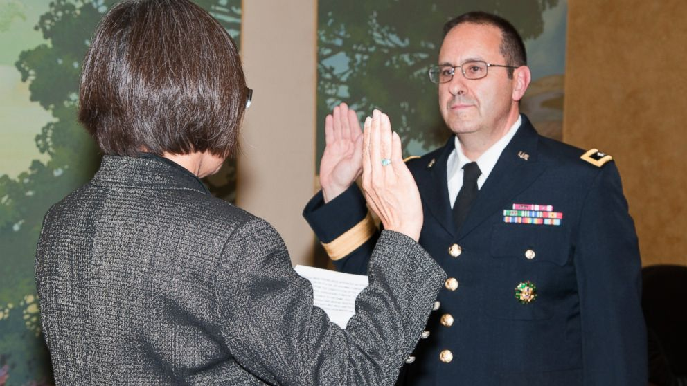 Heidi Shyu, Assistant Secretary of the Army (Acquisition, Logistics and Technology), hosted the promotion ceremony of Brig. Gen. Harold J. Greene at the Fort Myer Officers Club in this Aug. 30, 2012 file photo.