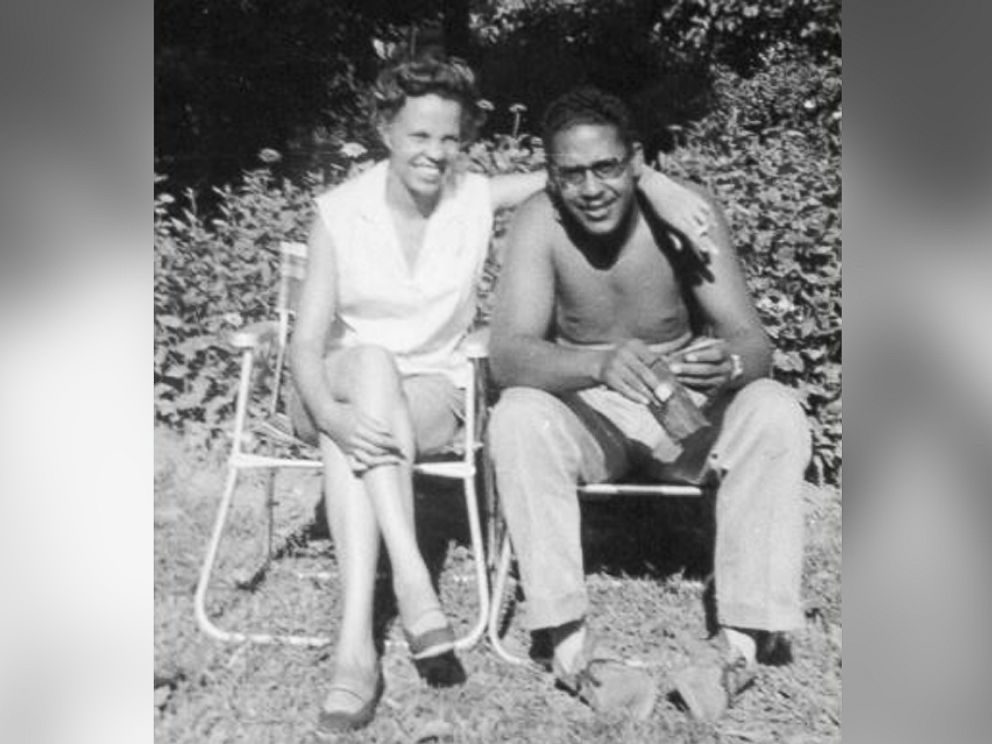 PHOTO: Charles Benning with his wife of over 60 years, Ernestine Benning.