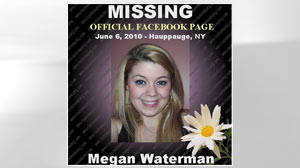 PHOTO Megan Waterman is shown in this missing persons poster which is posted on Facebook.