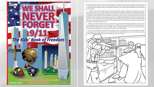 PHOTO: We Shall Never Forget 9/11 coloring book