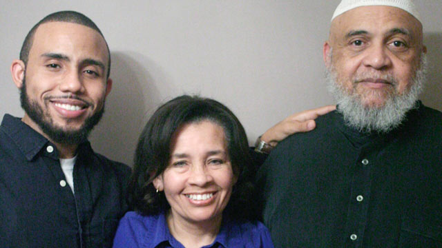 PHOTO: The national nonprofit oral history project called storycorps has launched a national teachers initiative to honor public school teachers in the U.S. The Weems, from left, Jason, Robin and Warren participated in Baltimore.