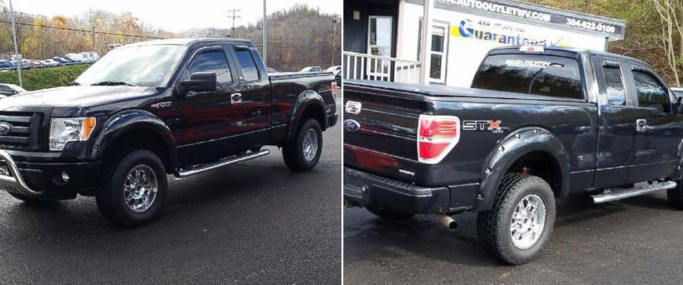 PHOTO: The Monongalia Emergency Centralized Communications Agency released these photos with a notice that a suspect vehicle is sought in a shooting that occurred in Monongalia County, West Virginia on Dec. 1, 2014.