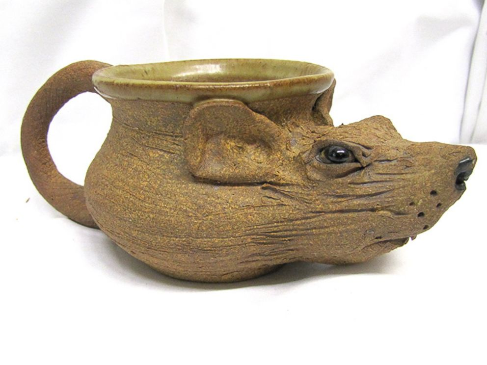 """PHOTO: U.S. Marshals will auction items belonging to James """"Whitey"""" Bulger. Items include a rat cup."""